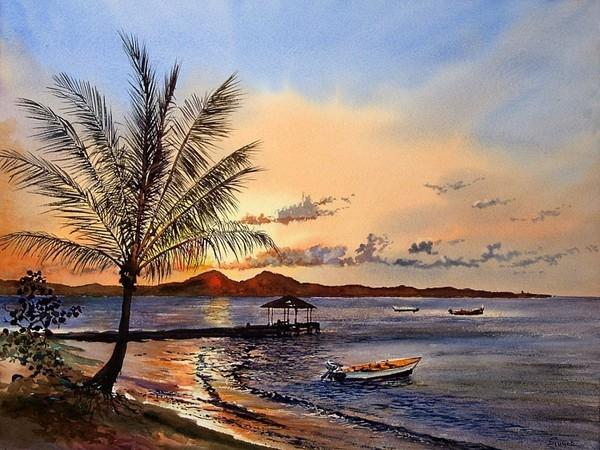 Image gallery peinture paysage - Idee pour peindre un tableau ...